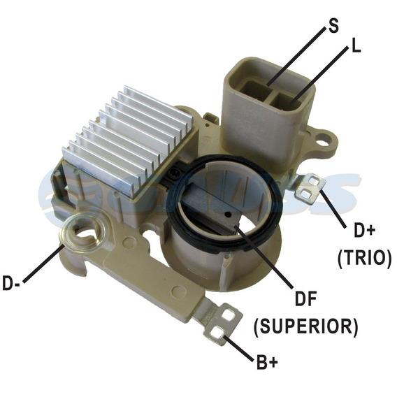 Regulador De Voltagem Tensao Pajero 2.8d 1994 A 1998 - Ga857