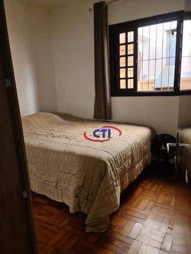 Casa Térrea Com 2 Dormitórios À Venda, - Nova Petrópolis - São Bernardo Do Campo/sp - Ca0402