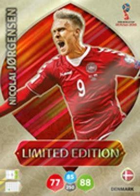 Card Copa 2018 Limited Edition Jorgensen 497