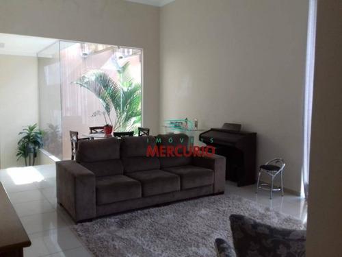 Casa Com 3 Dormitórios À Venda, 193 M² Por R$ 890.000,00 - Quinta Ranieri - Bauru/sp - Ca3030