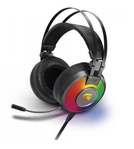 Headset Gamer Rgb G Pro H3+ 7.1 Cinza Fortrek Nfe Frete