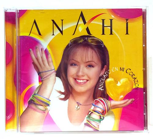 Anahi Anclado En Mi Corazón Cd Nuevo Ex Rbd