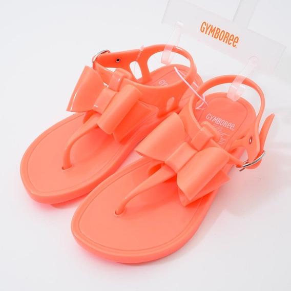 Sandália Flamingo Gymboree Neon Tam.25