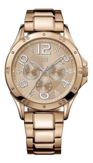 Relógio Tommy Hilfiger Th1781171 Orig Chron Anal Gold