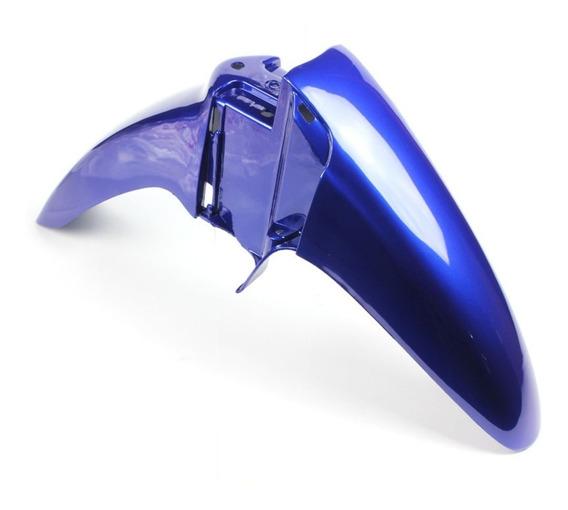 Paralama Dianteiro Biz 100 Ks Es 2002 A 2003 Azul Perolizado