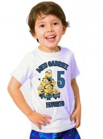 Camiseta Minions Malvado Favorito Infantil