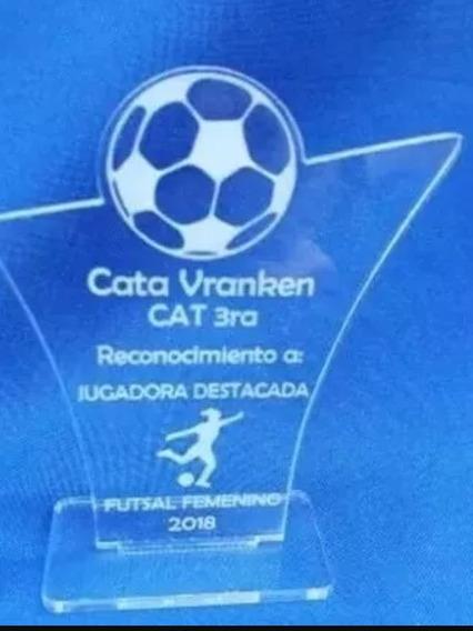 Trofeo Souvenir De Acrílico Por 50 Unidades