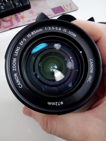 Lente Canon Ef-s 15-85mm F/3.5-5.6 Is Usm Com Fungos