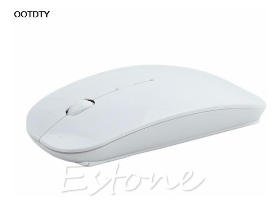 Mouse Óptico Sem Fio Wireless 2.4 Ghz Notebook E Tv Smart