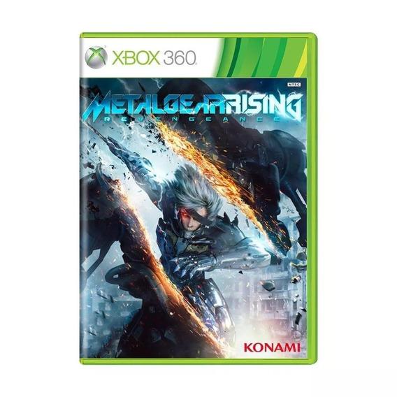 Metal Gear Rising Revengeance Xbox 360 Semi Novo