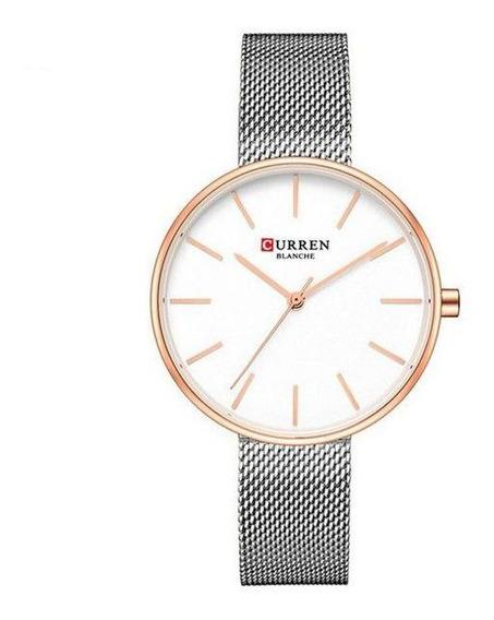Relógio Curren Feminino De Pulso Mod C9042l Nfe