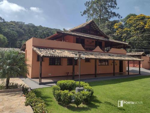 Chácara Com 3 Dormitórios À Venda, 2024 M² Por R$ 900.000,00 - Retiro Vale Do Sol - Embu Das Artes/sp - Ch0108