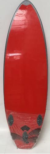 Imagen 1 de 9 de Tabla Surf Soft Liquid Sunset  5'8 X 20,5 Niños- Joven Rojo