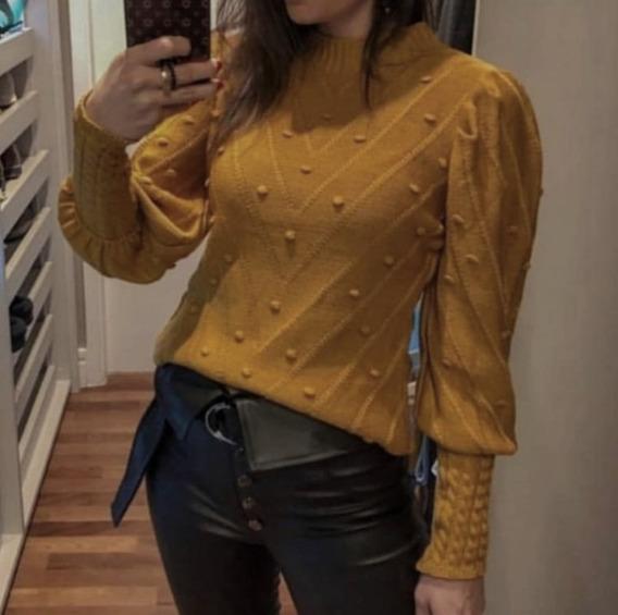 Blusa Feminina Em Tricot