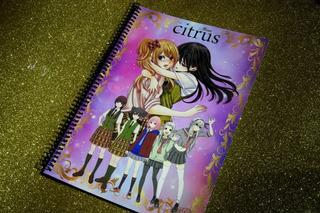 Citrus Anime Manga Yuzu Mei Saburouta Álbum Completo A Pegar