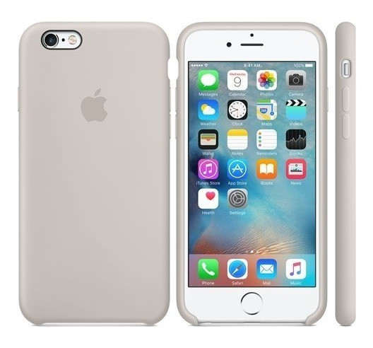 Forro Apple De Silicon iPhone 6plus