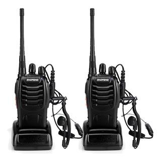 Set 2 Radios Baofeng Bf-888s Walkie Talkie 2 Vías Uhf Antro