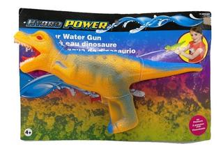 Pistola De Agua Dinosaurio Presurizada Hydro Power Mc0474