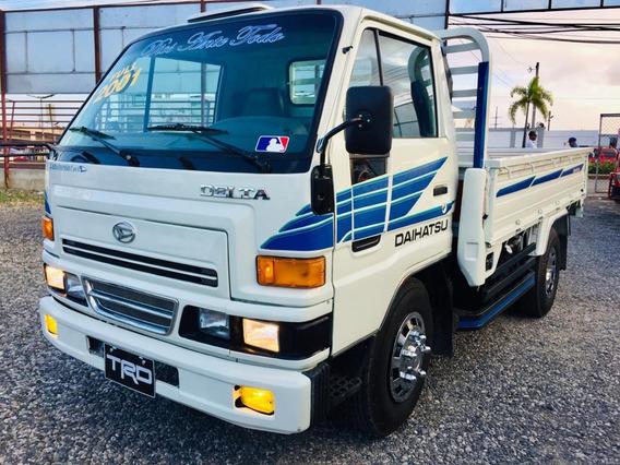 Super Oferta Camion Daihatsu Delta 2001 Cama Cortta 100%full