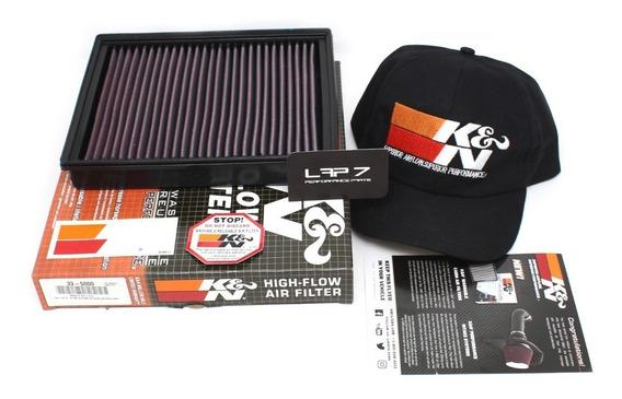 Filtro De Ar Espotivo Inbox K&n Ford Fusion 2.0 16v Turbo Ecoboost | Fusion 2.5 16v Duratec 2013 Em Diante Kn 33-5000