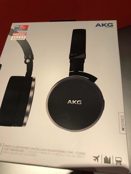 Fone Akg N60nc - Noise Cancelling Wired