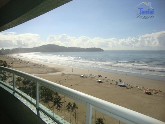 Apartamento Em Praia Grande. Vista Mar, 03 Dormitórios, 03 Vagas Na Guilhermina Ap1392 - Ap1392