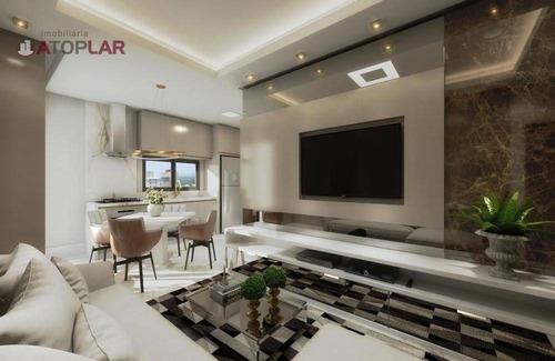 Apartamento À Venda, 65 M² Por R$ 450.000,00 - Morretes - Itapema/sc - Ap2192