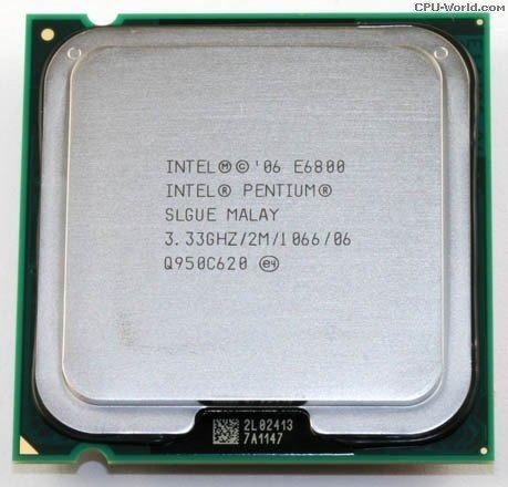 Processador Intel Dual E6800 3.33ghz 775 - Carta Registrada