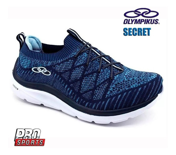 Olympikus Tenis Secret W Marinho Sky Blue - Original