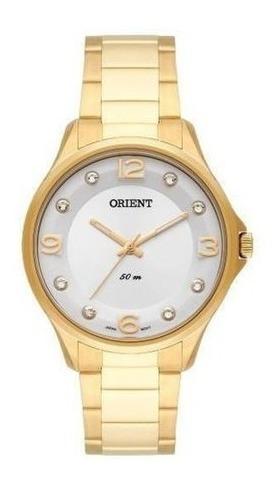 Relogio Orient Feminino Dourado- Fgss0069 S2kx ==42