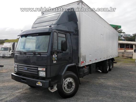 Ford Cargo 1418 6cc Turbo Truck Reduzido Baú 10m X 3m