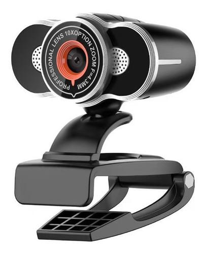 720p Hd Webcam Usb Laptop Câmera Clip-on Pc Web