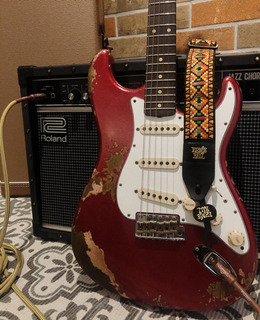 Guitarra Fender Custom Shop 60s Stratocaster Heavy Relic Red