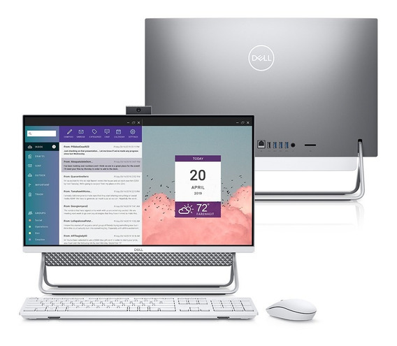 Computador All In One Dell Inspiron Core I5 12gb Ssd Touch