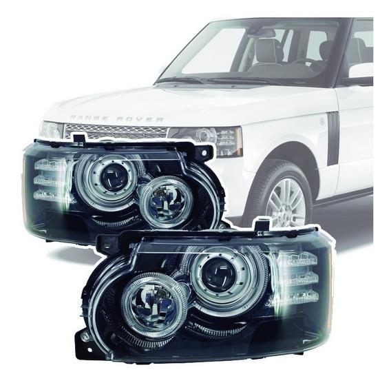 Farol Led Bi-xenon Range Rover Vogue 2010 Até 2012