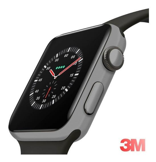 Adesivo Proteção Skin Cinza 3m Apple Watch 44m Series 4