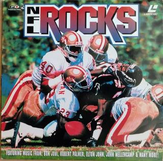 Nfl Rocks Música Videos Bon Jovi, Elton John Laserdisc