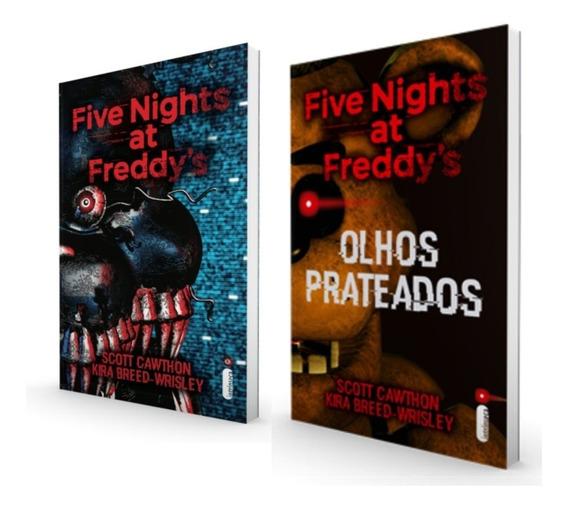 Five Nights Freddys Olhos Prateados Distorcidos Frete Grátis