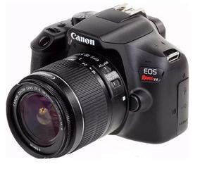Câmera Canon Eos Rebel T6 Lente Kit Ef-s 18-55mm Wifi