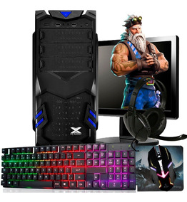 Pc Gamer Completo Tela + Kit / 8gb / Geforce + Jogos
