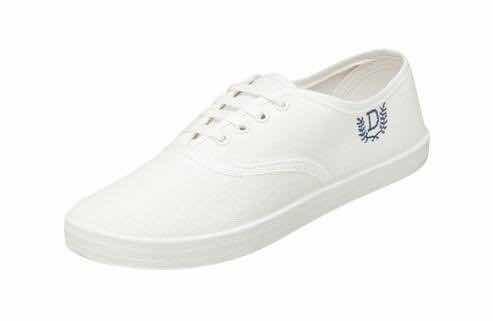 Zapatillas Lona Blancas