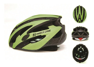Capacete Bike Passeio Mtb High One Out Mv29 Verde Fosco G