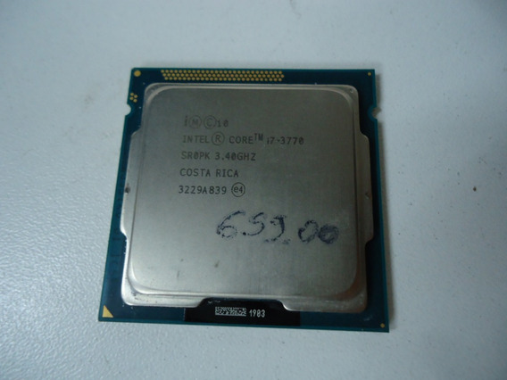 Processador Intel Core I7 3770 Sr0pk
