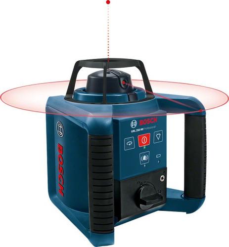 Imagem 1 de 1 de Nível Laser Rotativo Bosch Grl 250 Hv Maquifer