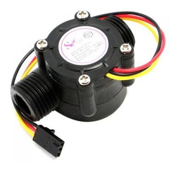 Sensor De Fluxo Vazão De Água 1/2 Yf-s201 Arduino Uno Mega