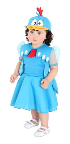 Vestido Galinha Pintadinha Bebe