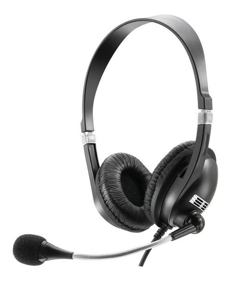 Headset Multilaser Acoustic Som Hi-fi Estéreo Ph041 - Preto