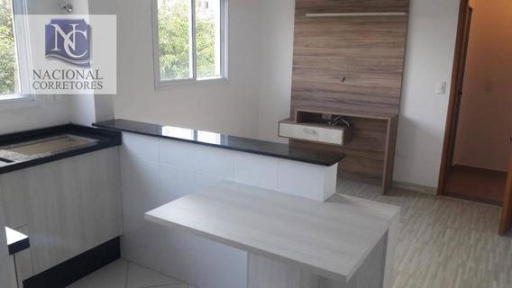 Apartamento Com 2 Dormitórios À Venda, 50 M² Por R$ 210.000,00 - Parque Das Nações - Santo André/sp - Ap6012