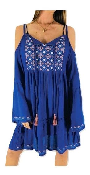 Vestido Solero Hindu Tipo India Style Rapsodia Importado