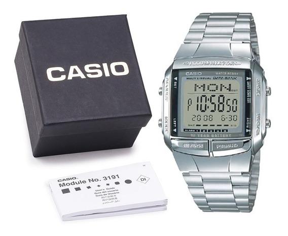 Relógio Casio Db-360 Original Digital Metal C Caixa E Nf